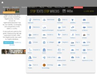 aboutrajahmundry.com screenshot