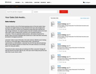 aboutsalesjobs.com screenshot