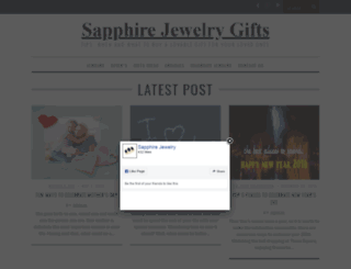 aboutsapphirejewelry.com screenshot