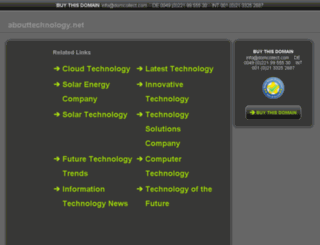 abouttechnology.net screenshot