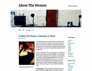 aboutthewoman.wordpress.com screenshot