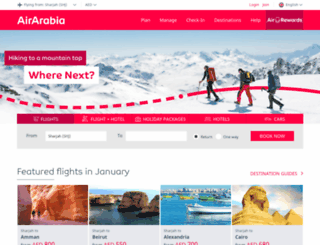 aboutus.airarabia.com screenshot