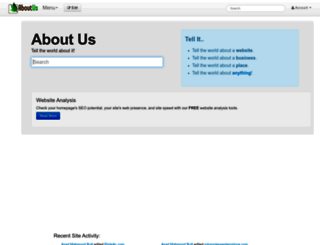 aboutus.org screenshot