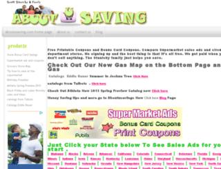 aboutusaving.com screenshot
