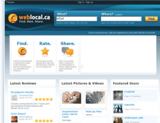 aboutweblocal.ca screenshot