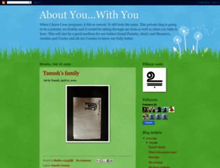 aboutyouwithyou.blogspot.com screenshot