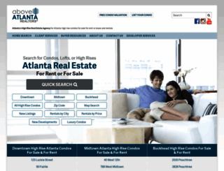 aboveatlanta.com screenshot