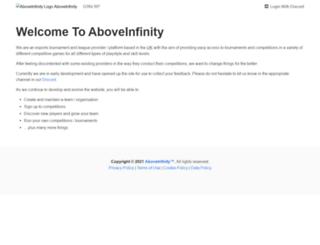 aboveinfinity.com screenshot