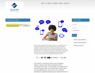 abovesms.com screenshot