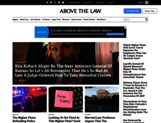 abovethelaw.com screenshot