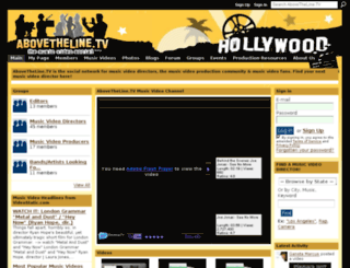 abovethelinetv.ning.com screenshot