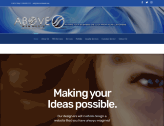 abovewebmedia.com screenshot