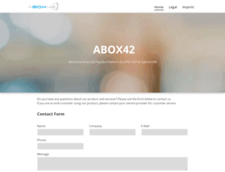 abox42.com screenshot