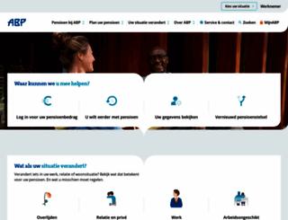 abp.nl screenshot