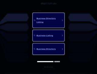 abpd.com.au screenshot