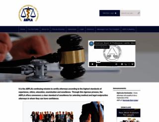 abpla.org screenshot