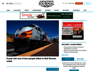 abqjournal.com screenshot