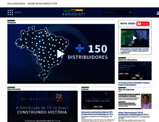 abradisti.org.br screenshot