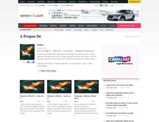 abrahambadji.seneweb.com screenshot