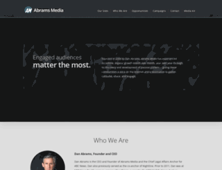 abrams-media.com screenshot