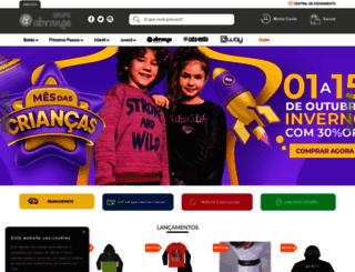 abrangetextil.com.br screenshot