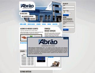 abraodespachos.com.br screenshot