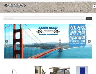abrasiveblastequipment.com screenshot