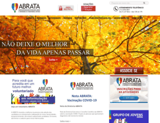 abrata.org.br screenshot