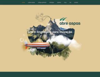 abreaspas.com.br screenshot