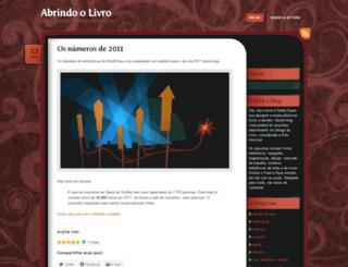 abrindoolivro.wordpress.com screenshot
