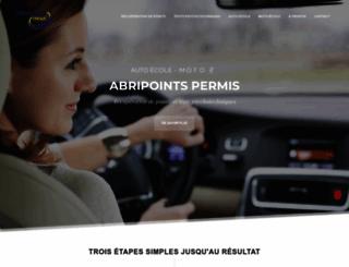 abripoints.fr screenshot