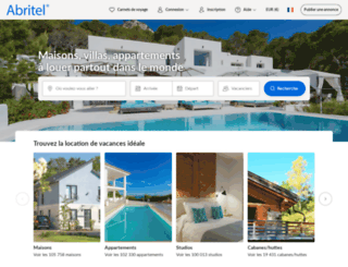 abritel.com screenshot