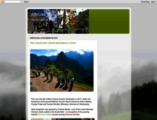 abroadtrekkersperu.blogspot.pe screenshot
