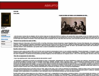 abrupto.blogspot.com screenshot
