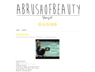 abrushofbeauty.com screenshot