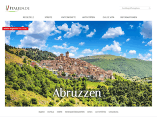 abruzzen-online.de screenshot