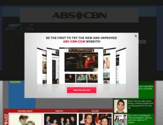 abs-cbn.tv screenshot