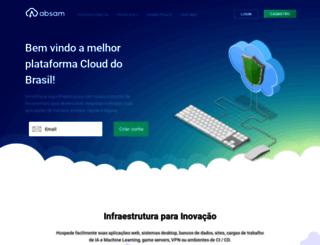 absamhost.com.br screenshot
