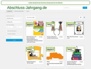 abschluss-jahrgang.de screenshot