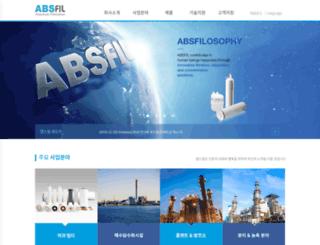 absfil.com screenshot