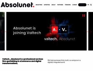 absolunet.com screenshot