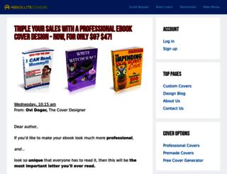 absolutecovers.com screenshot