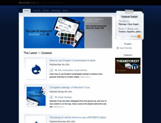 absolutecross.com screenshot