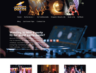 absolutediscos.co.nz screenshot
