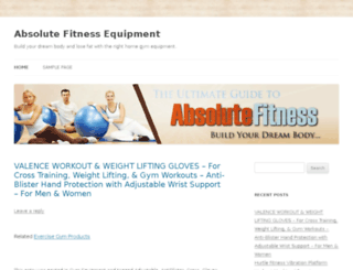 absolutefitnessequip.com screenshot