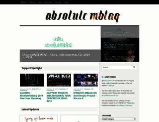 absolutemblaq.wordpress.com screenshot