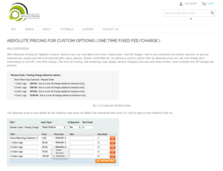 absolutepricing.com screenshot