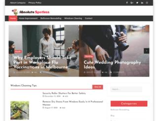 absolutespotless.com.au screenshot
