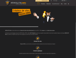 absoluteweb.net screenshot