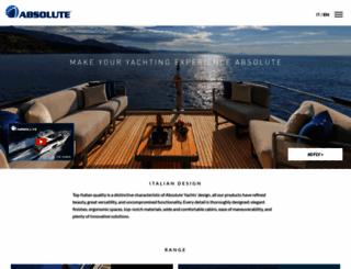 absoluteyachts.com screenshot